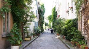 Paris insolite Rue des Thermopyles