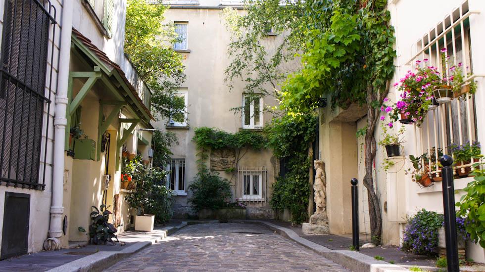 Impasse du Moulin vert Paris