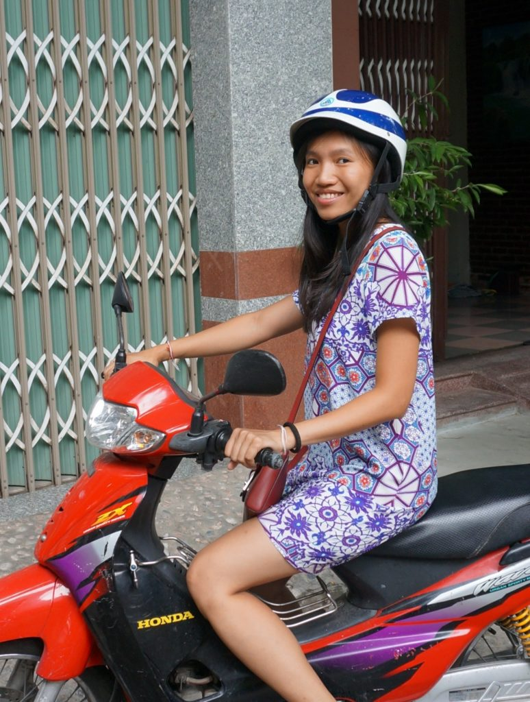 Scooter au Vietnam