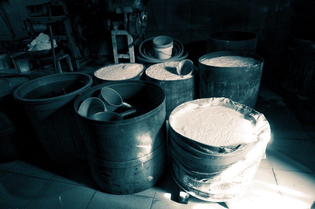 trempage de riz