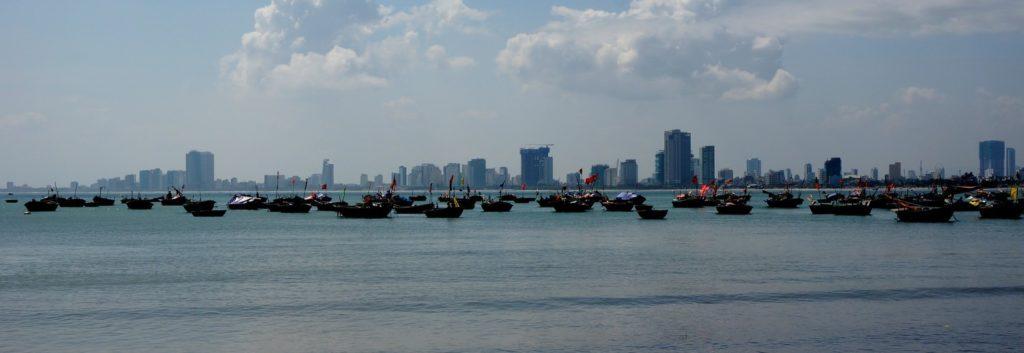 Danang vue de la plage
