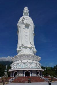 Statue de Lady Bouddha à Danang