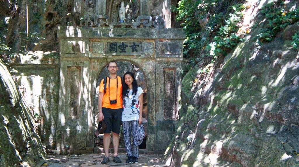 Montagne de marbre à Da Nang