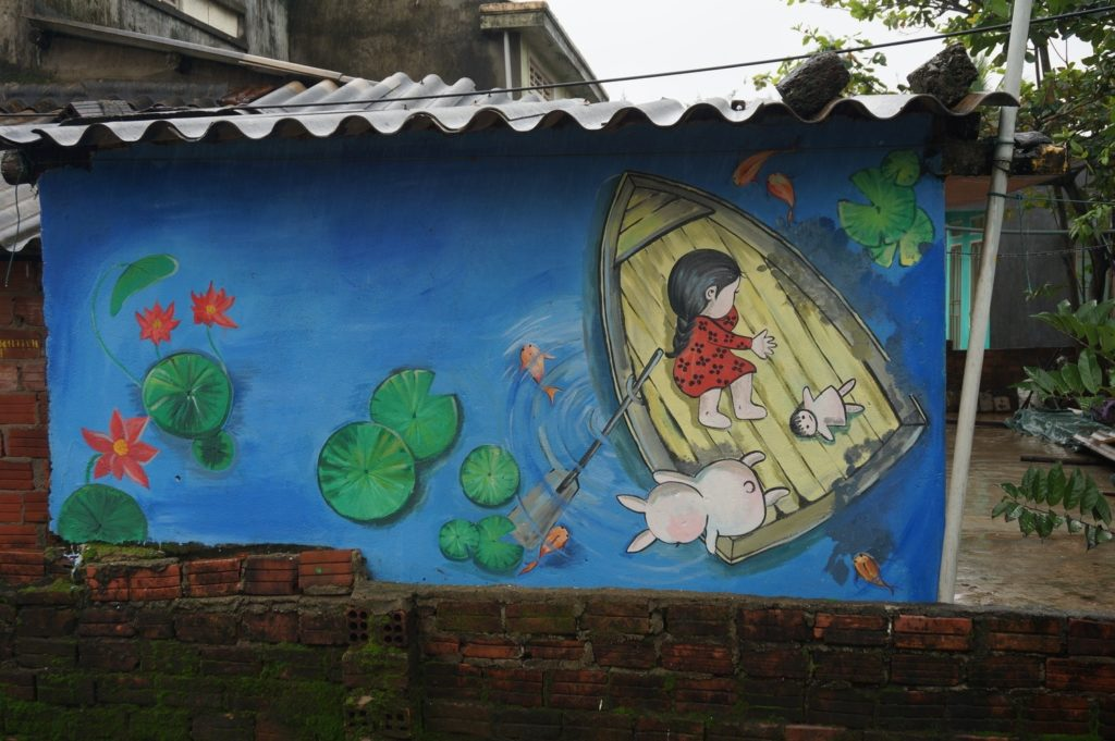 Les peintures murales de Tam Thanh