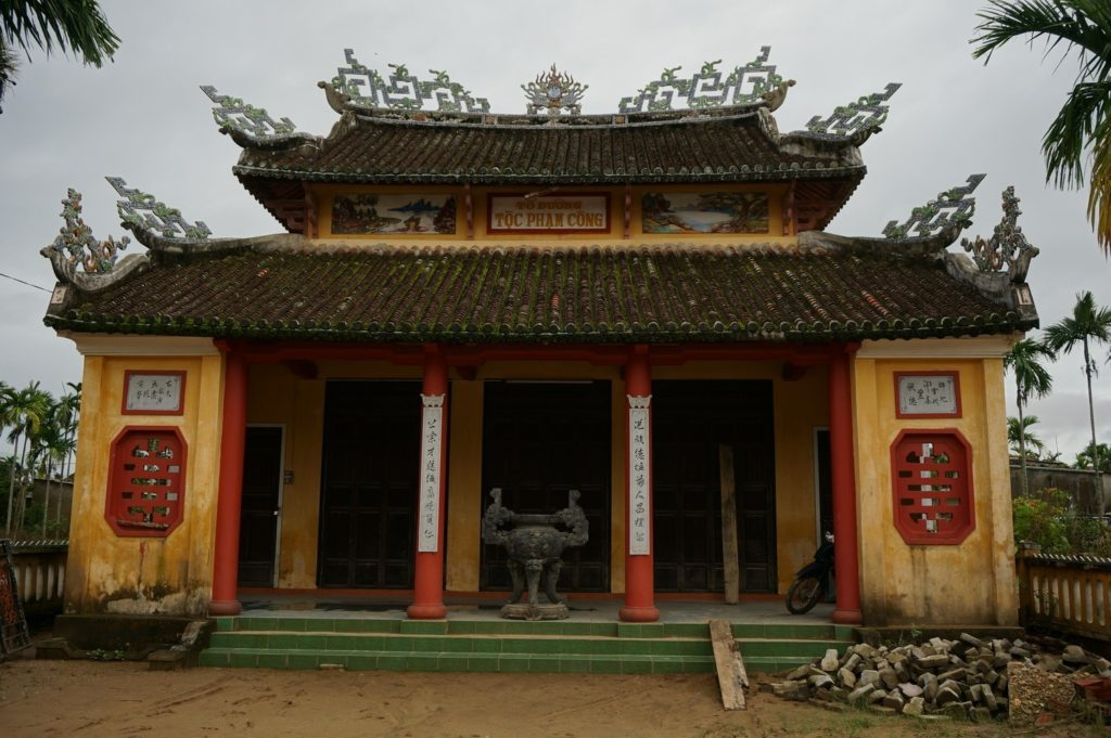 Temple à Cam Nam