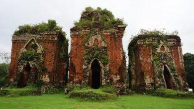 Les temples Cham Chien Dan à Tam Ky