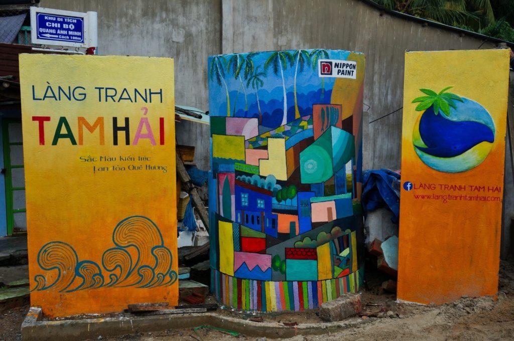 fresques murales de Tam Hai