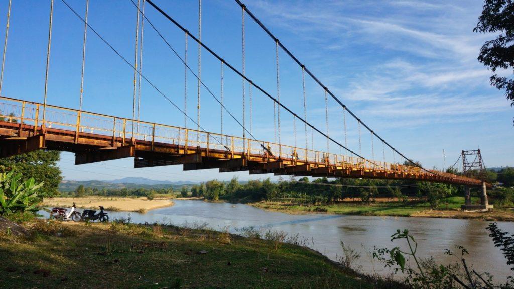 Structure métallique du pont Konklor
