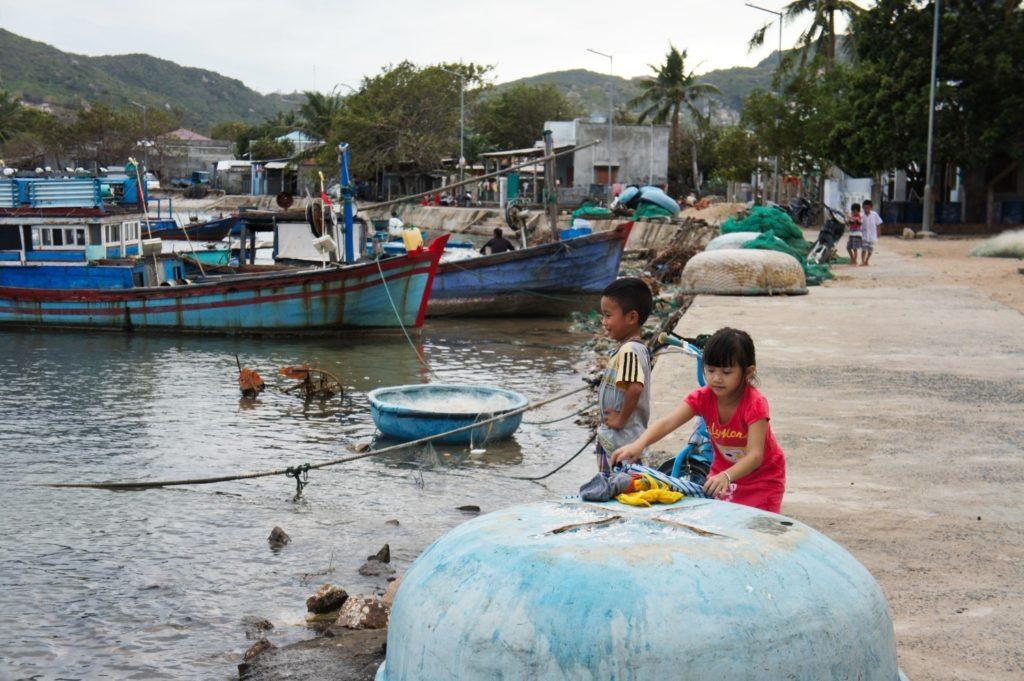la baie de Vinh Hy au Vietnam