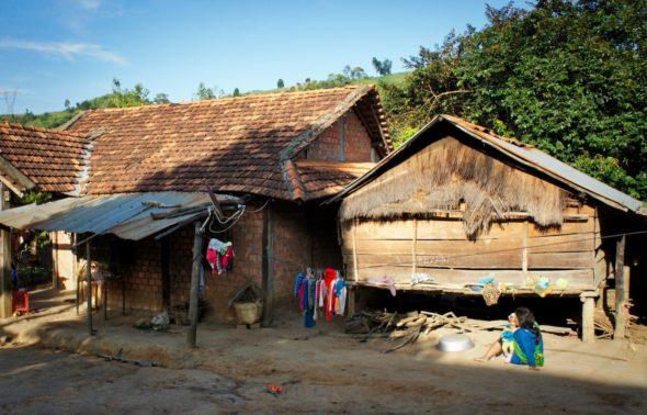 maison des Bahnar