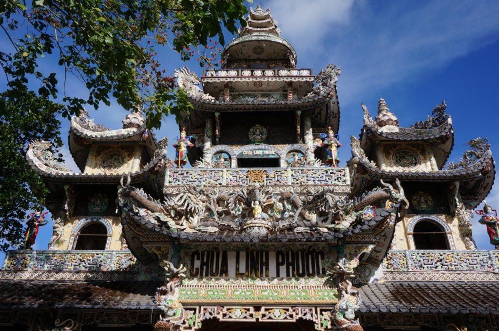 temple Linh Phuoc à Dalat