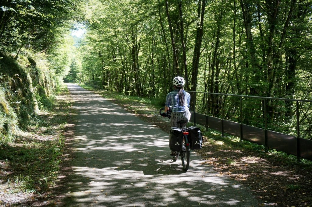 Week-end à vélo dans le Jura