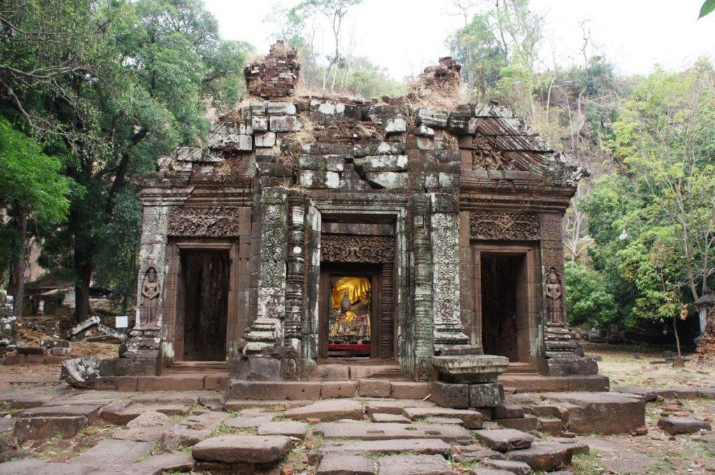 Vat Phou magnifique temple à Champasak au Laos