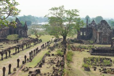 Vat Phou: à la recherche du temple khmer à Champassak au Laos