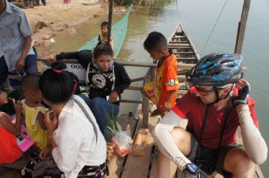 l'île de Don Daeng au Laos