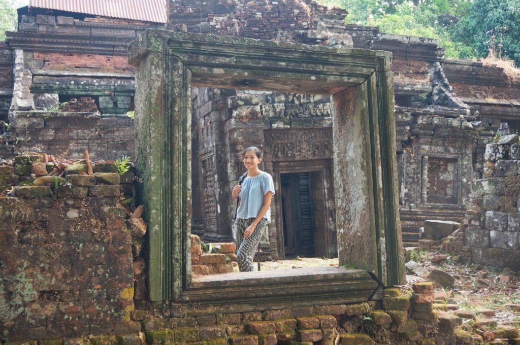 Superbe cadre à côté du principal temple