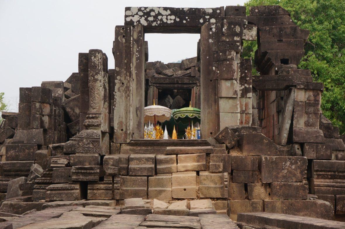 Les ruines de Hong Nang Sida Champassak