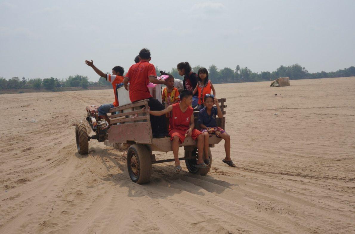 Moyen de transport populaire sur l'île