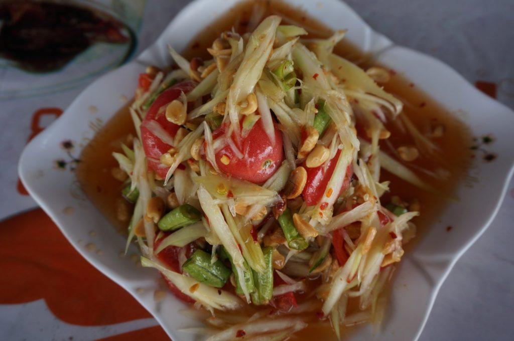 Som Tam salade de papaye thaïlandaise