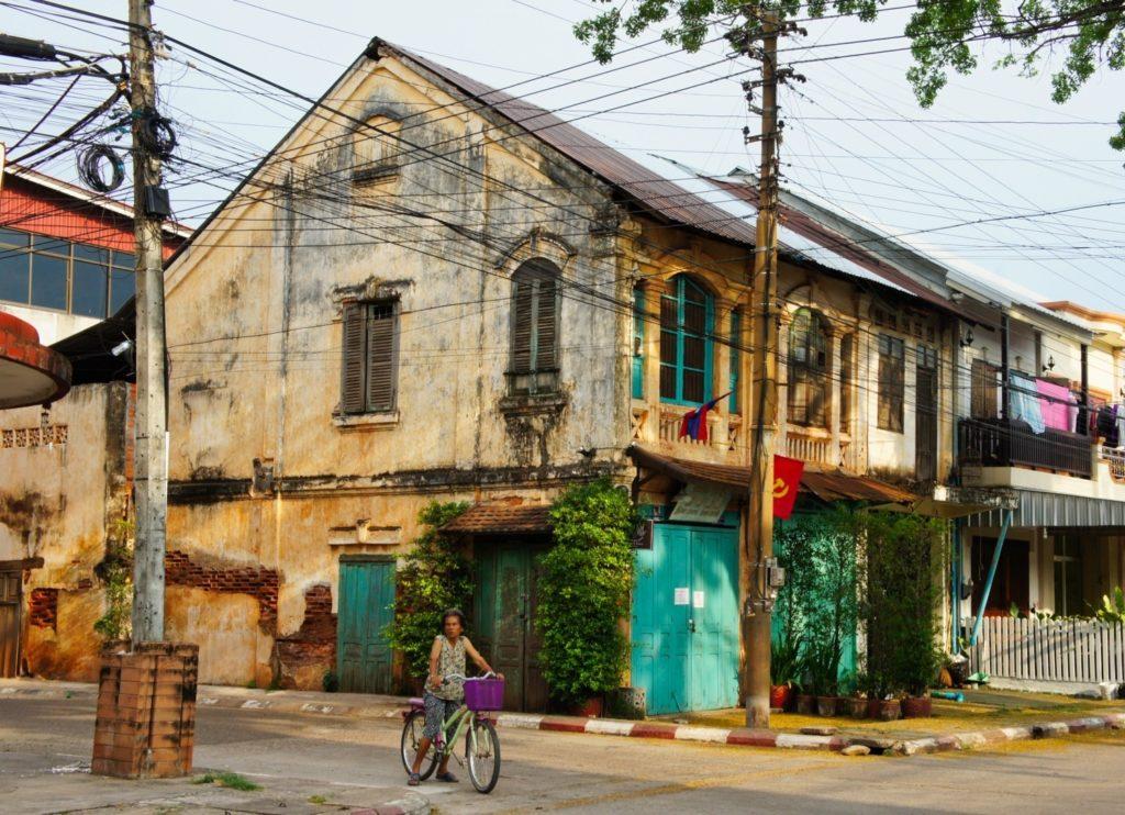 Bâtiment colonial à Savannakhet