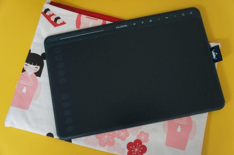 tablette huion pour matériel voyage long cours