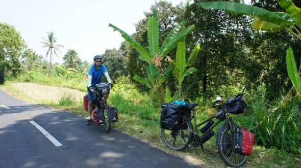 Bali itinéraire vélo