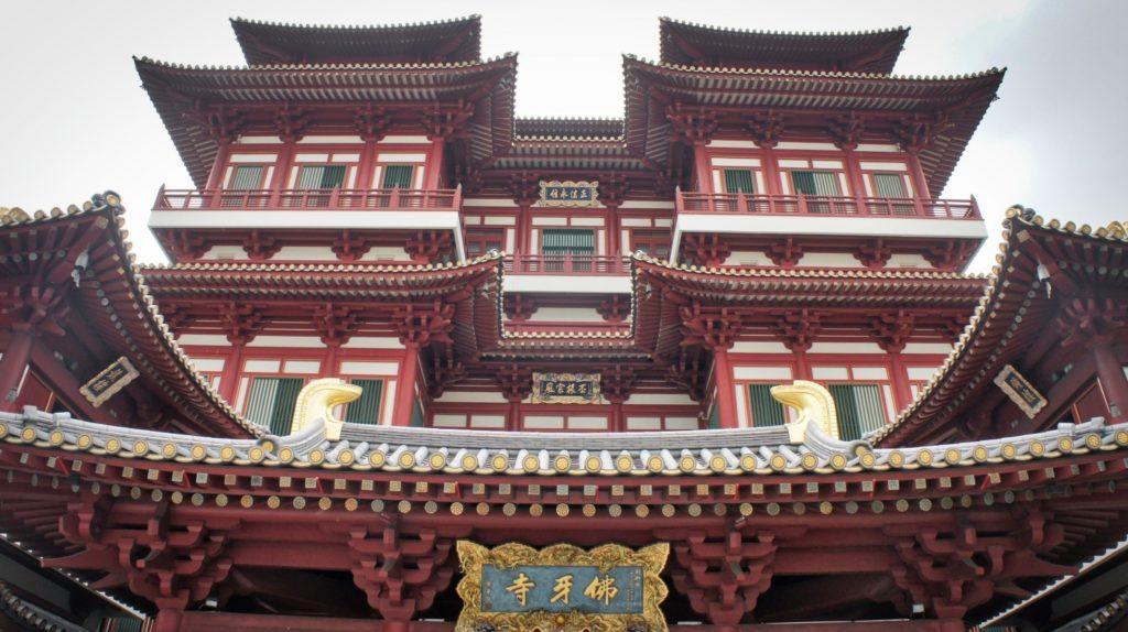 Chinatown temple Singapour