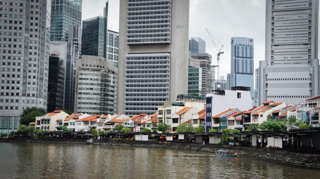 Boat Quay Singapour