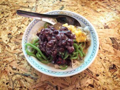 Cuisine de rue Malaisie cendol