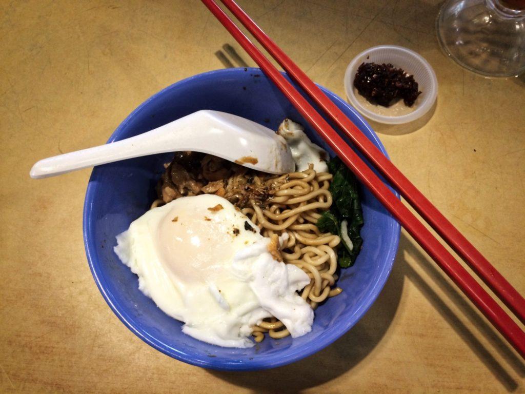 Pan Mee street-food malaisie