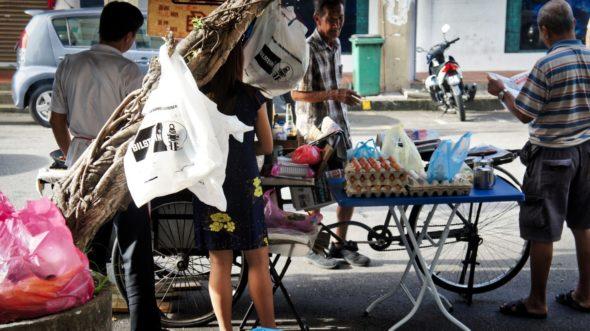 Cuisine de rue Malaisie