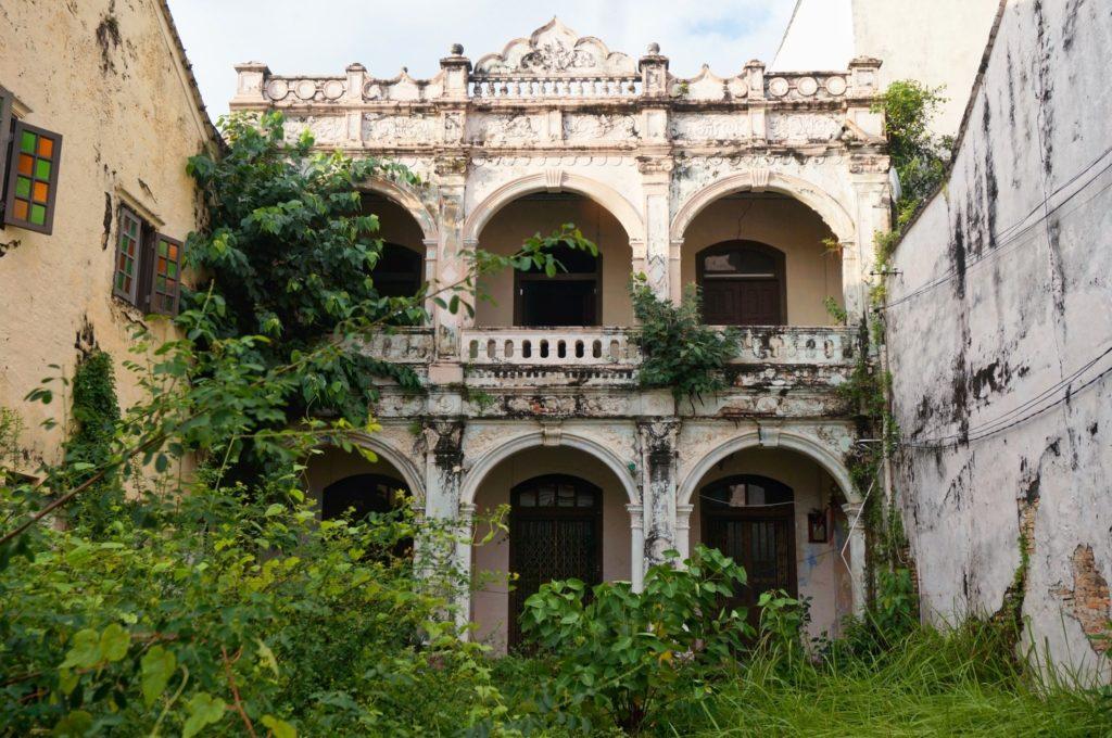 Maison abandonnée à Malacca