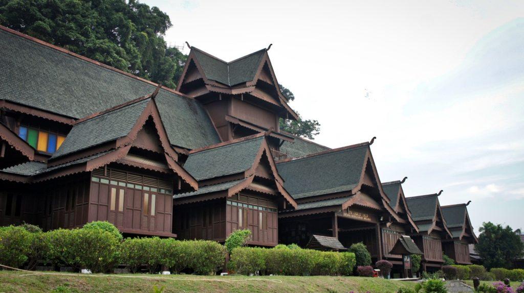 Le palais du sultan à Malacca