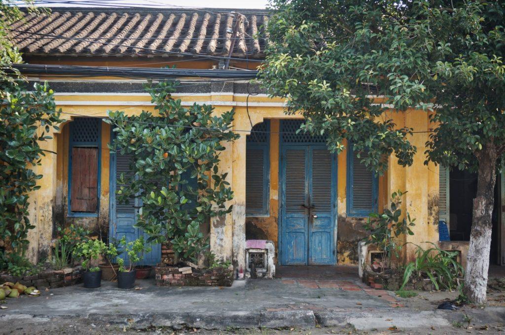 Maison coloniale à Sa Dec delta du Mékong
