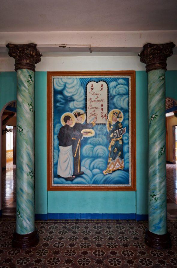 temple caodaisme Sa Dec