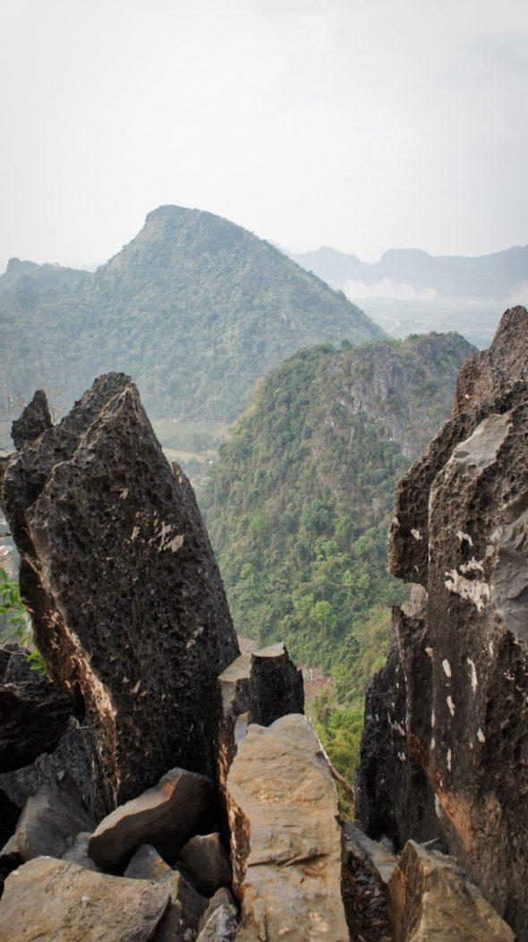 Pha Ngern view point Vang Vieng