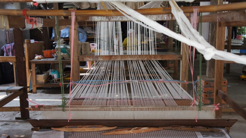 tissage de soie Luang Prabang