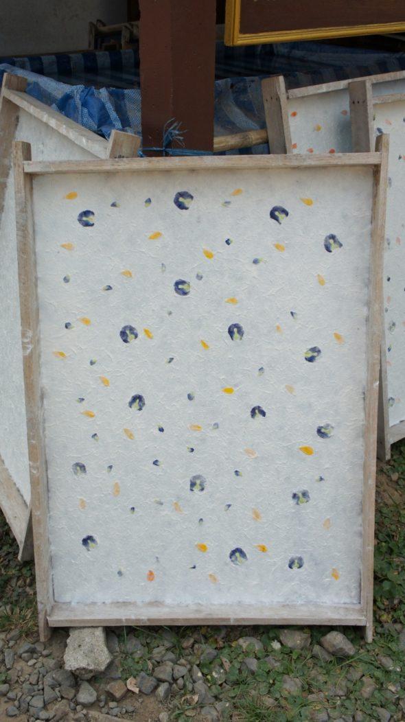 fabrication de papier Luang Prabang