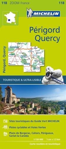 Carte Michelin Périgord Quercy