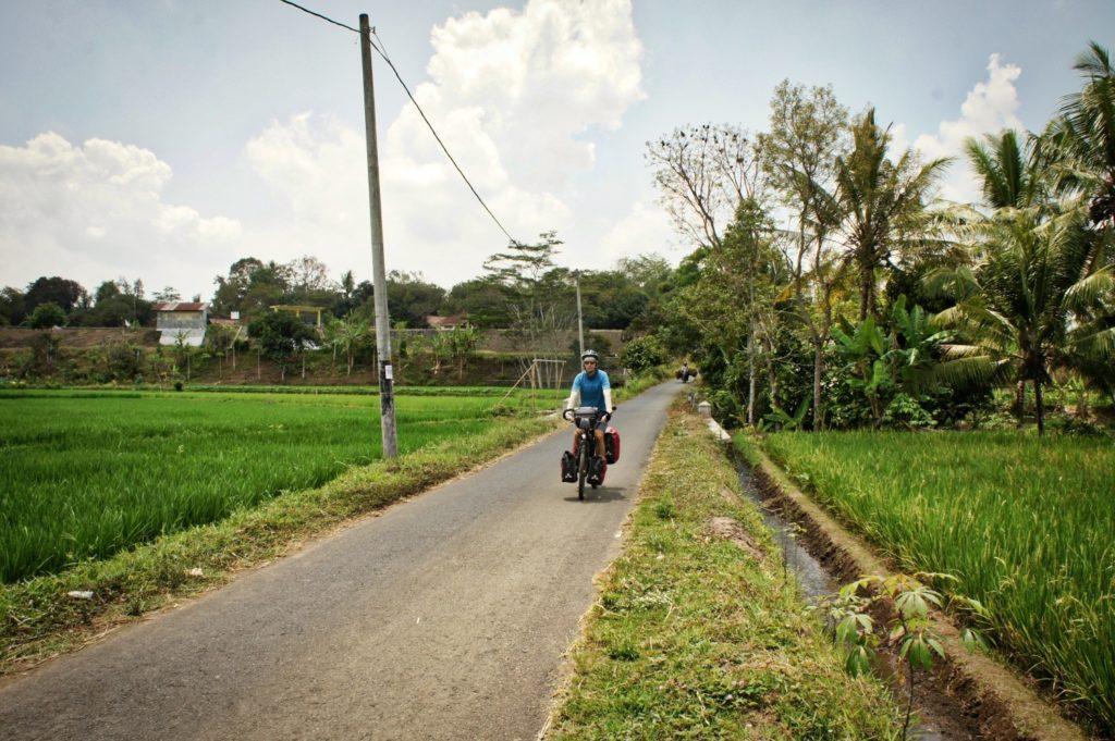 Borobudur à vélo