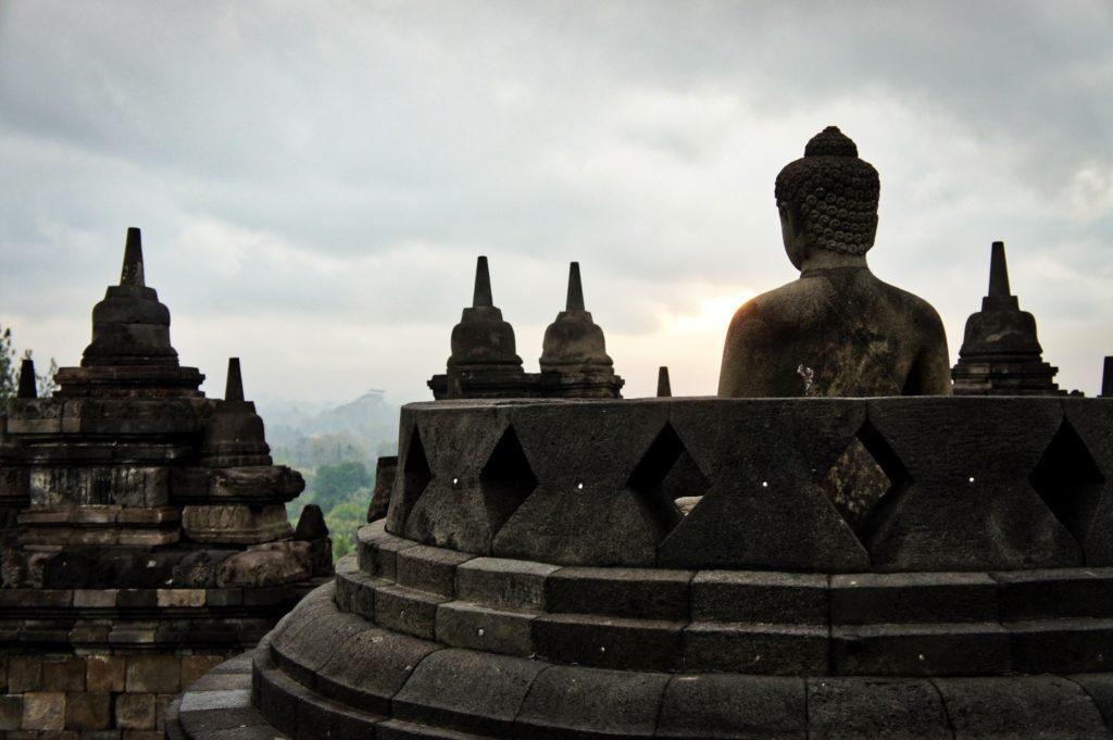Borobudur au lever du soleil