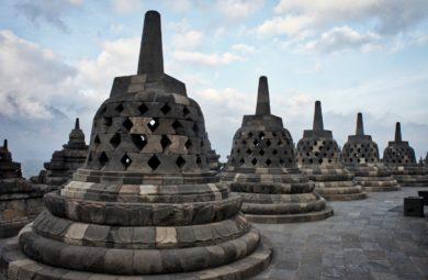 Borobudur au lever du soleil : à éviter !