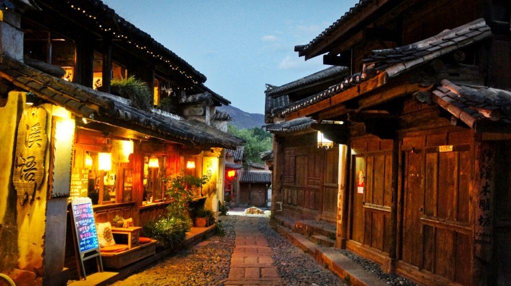 Shaxi yunnan