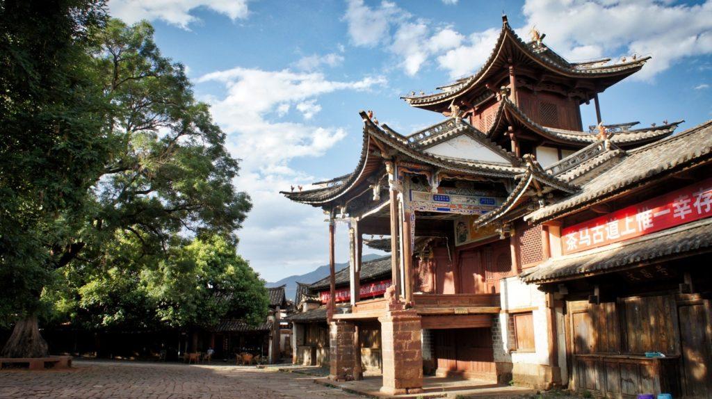 théâtre Sideng Shaxi Yunnan