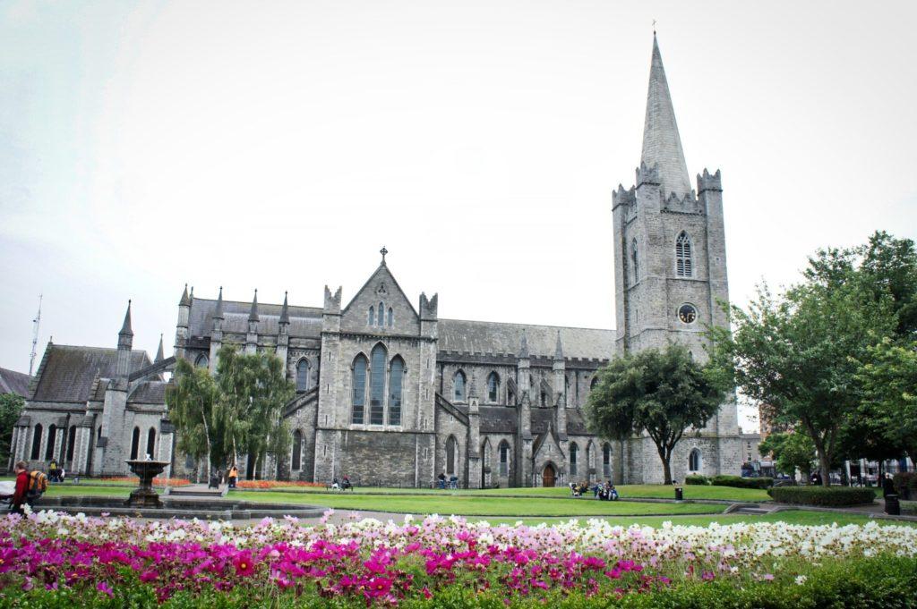La cathédrale Saint-Patrick à Dublin