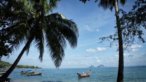 l'île de Koh Muk en Thaïlande