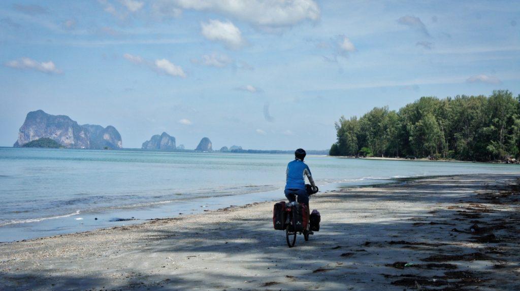 Vers la plage de Pak Meng à Trang