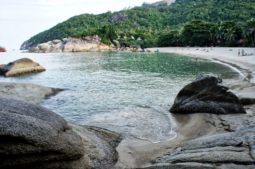 Une plage de Koh Phangan en Thaïlande