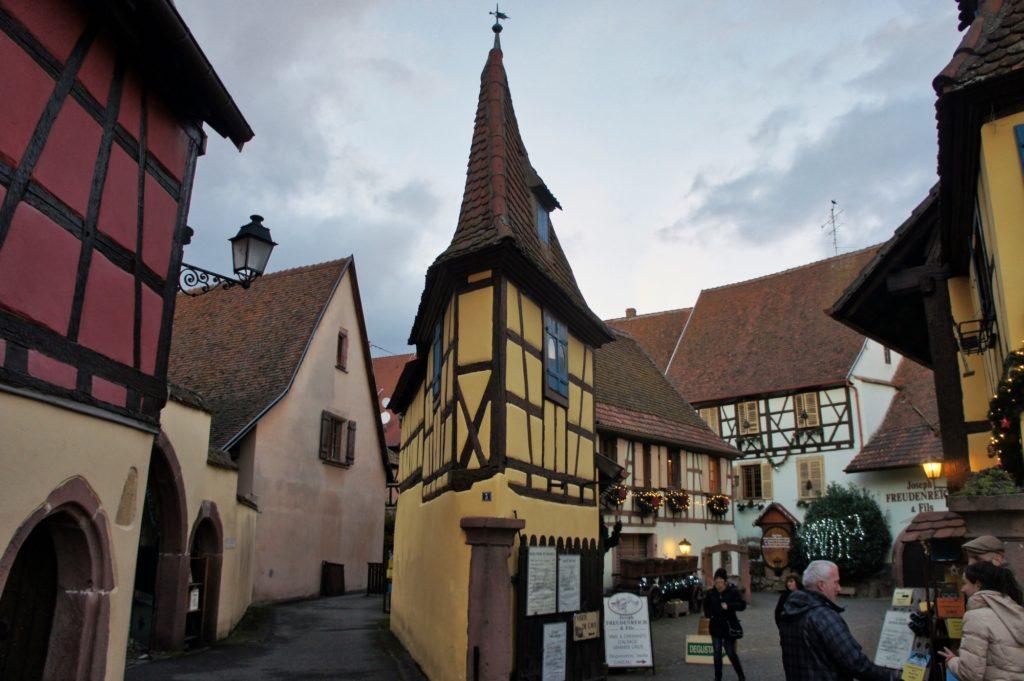 Le plus beau village de France Eguisheim et son marché de Noël