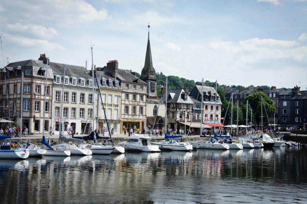 week-end à vélo en Normandie